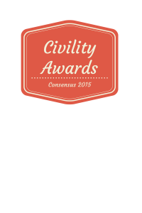 Civility Awards 2015